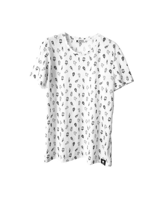 Quipster Quiptastic All Over Print on white unisex T-Shirt