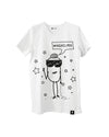 Quipster RTL Dschungelcamp Character Florian Wess High-class on white unisex T-Shirt