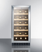 "Load image into Gallery viewer, Summit 15"" Wide Built-In Wine Cellar, ADA Compliant"