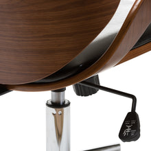 Load image into Gallery viewer, Baxton Studio Watson Walnut and Black Modern Office Chair
