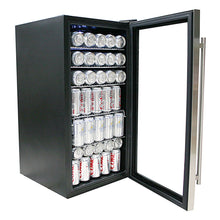 Load image into Gallery viewer, Whynter Beverage Refrigerator - Stainless Steel