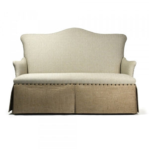 Zentique 3 Seater Skirted Sofa