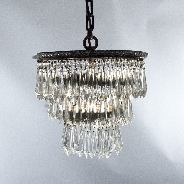 Zentique Chandelier Lighting Crystal Chandeliers H15