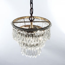 "Load image into Gallery viewer, Zentique Chandelier Lighting Crystal Chandeliers H15"" X W12"""