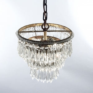 "Zentique Chandelier Lighting Crystal Chandeliers H15"" X W12"""