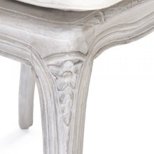 Load image into Gallery viewer, Zentique Annette Chair Antique White