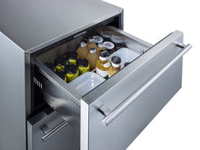 "Load image into Gallery viewer, Summit 24"" Wide 2-Drawer All-Refrigerator, ADA Compliant"