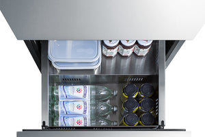 "Summit 24"" Wide 2-Drawer All-Refrigerator, ADA Compliant"
