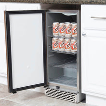 Load image into Gallery viewer, Whynter Stainless Steel 3.2 cu. ft. Indoor / Outdoor Beverage Refrigerator