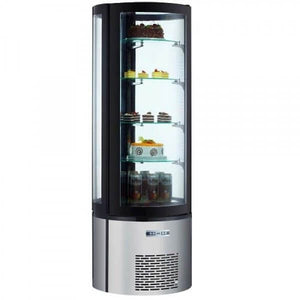 Admiral Craft Floor Standing Refrigerated Cake Display - 12.7 Cu. Ft.