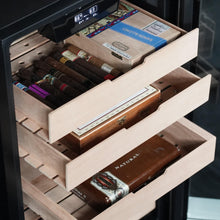 Load image into Gallery viewer, Whynter 4.2 cu.ft. Cigar Cabinet Cooler and Humidor with Humidity Temperature Control and Spanish Cedar Shelves