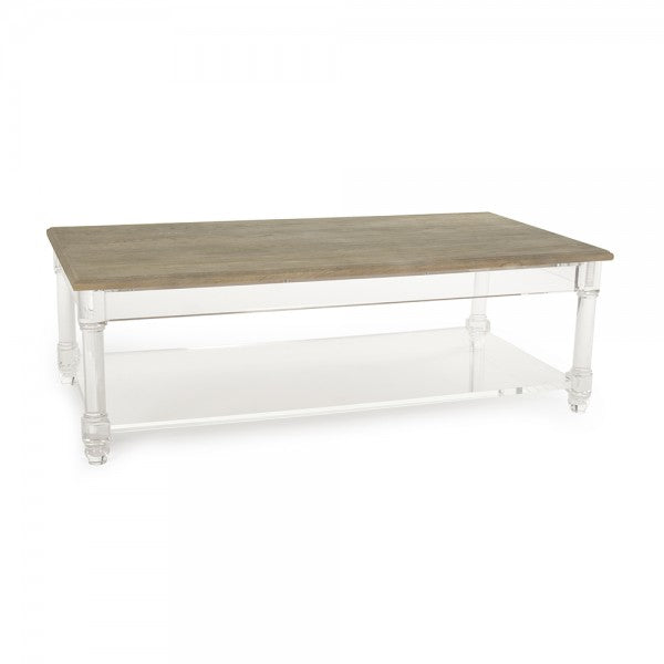 Zentique Corbin Acrylic Coffee Table