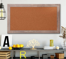 Load image into Gallery viewer, Farmhouse Framed Cork Board 53.5'' x 29.5''