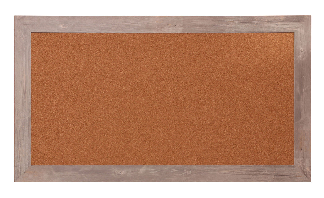 Farmhouse Framed Cork Board 53.5'' x 29.5''