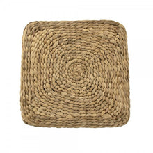 Load image into Gallery viewer, Zentique Woven Cube Stool