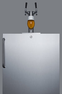 "Summit 24"" Wide Outdoor Kegerator, ADA Compliant"