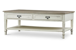 Baxton Studio Dauphine Traditional French Accent Coffee Table