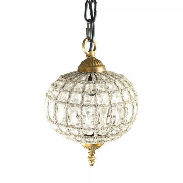 Zentique LI-05-23S1 Dawn Hanging Light 6.5 x 9.5 x 6.5 in