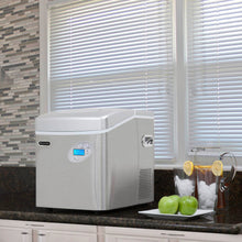 Load image into Gallery viewer, Whynter Portable Ice Maker with 49lb Capacity Stainless Steel with Water Connection