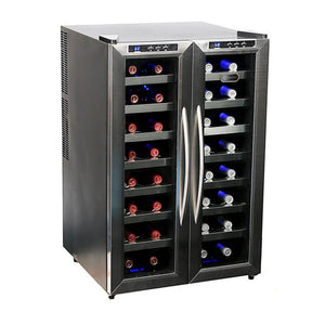 Whynter 32 Bottle Dual Temperature Zone Wine Cooler