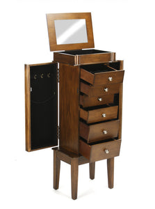 Armoire with 6 Drawers Charingin Brown Color