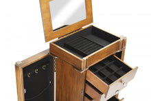 Load image into Gallery viewer, Armoire with 6 Drawers Charingin Brown Color