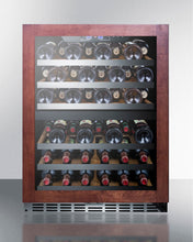 "Load image into Gallery viewer, Summit 24"" Wide Built-In Wine Cellar SWC532LBISTPNR"
