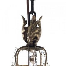 Load image into Gallery viewer, Zentique  Garland Chandelier Light W24 x H36.5 x D20  LI-05-144L