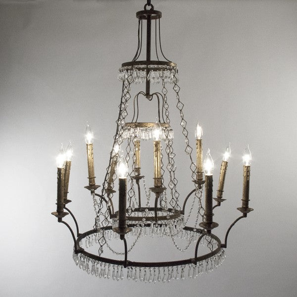 Zentique Gauvain Chandelier Light W30 x H38.5-39 x D30 LI-05-201