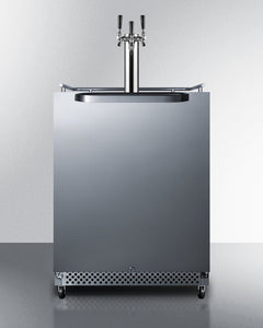 "Summit 24"" Wide Built-In Outdoor Kegerator"