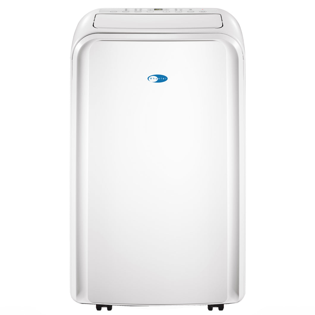 WHYNTER 12,000 BTU DUAL HOSE PORTABLE AIR CONDITIONER WITH 3M AND SILVERSHIELD FILTER