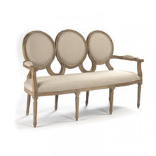 Load image into Gallery viewer, Zentique Medallion Settee