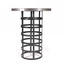 Load image into Gallery viewer, Zentique Recycled Metal Bar Table