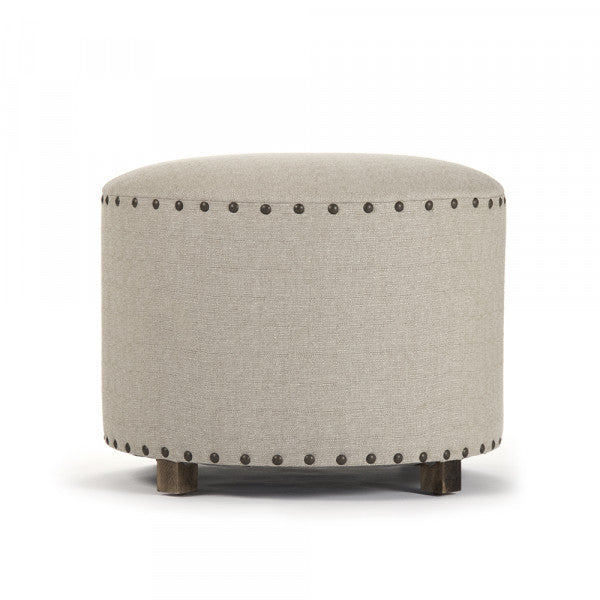Zentique Natural Round Stool