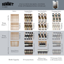 Load image into Gallery viewer, Summit  51 Bottle Integrated Wine Cellar