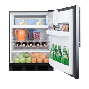 "Summit  24"" Wide Built-In Refrigerator-Freezer, ADA Compliant"