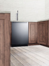 "Load image into Gallery viewer, Summit 24"" Wide Built-In Kegerator"