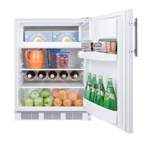 "Load image into Gallery viewer, Summit 24"" Wide Refrigerator-Freezer"