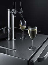 "Load image into Gallery viewer, Summit 24"" Wide Built-In Outdoor Wine Kegerator"