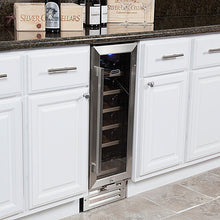 Load image into Gallery viewer, Whynter 18 Bottle Compressor Built-In Wine Refrigerator