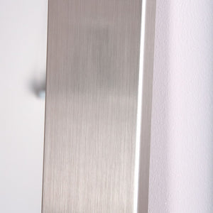 Silver Fitting Room Tall Mirror