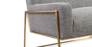"Kardiel Suspend 33"" Fabric Chair, Sparrow"