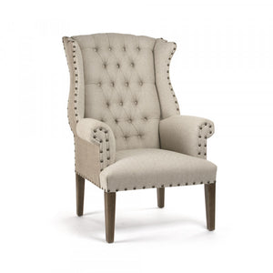 Zentique Tufted Wing Chair