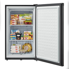Load image into Gallery viewer, Whynter 3.0 cu. ft. Energy Star Upright Freezer with Lock – Stainless Steel