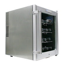 Load image into Gallery viewer, WHYNTER SNO 16 Bottles Wine Cooler - Platinum with lock