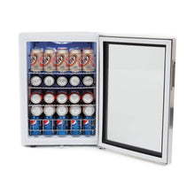 Load image into Gallery viewer, Whynter Beverage Refrigerator With Lock - Stainless Steel 90 Can Capacity