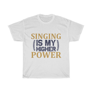 Singing is my