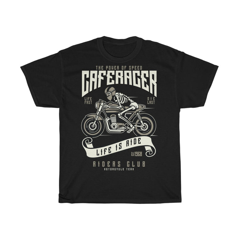 Speed of a cafe racer