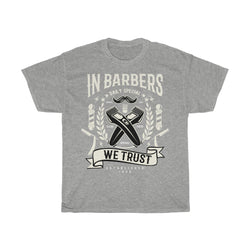 In barbers we trust - ShirtShopEurope