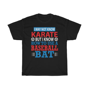 I may not know karate